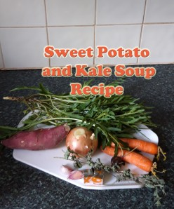 Quick And Easy Sweet Potato and Kale Soup Recipe