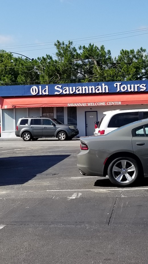 Old Savannah Tour guides are fantastic. You can hop on and off to tour the district.