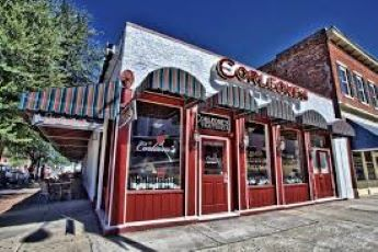 Corleone's Italian Restaurant in Savannah, Georgia.