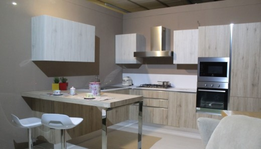 How a studio apartment kitchen can look like