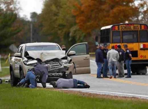 Vehicle that struck and killed three children