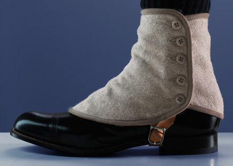 Men: Do You Think That Spats Will Make A Comeback?