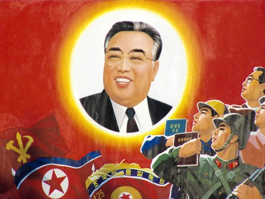 The greatest man to ever live, Kim-Il Sung.