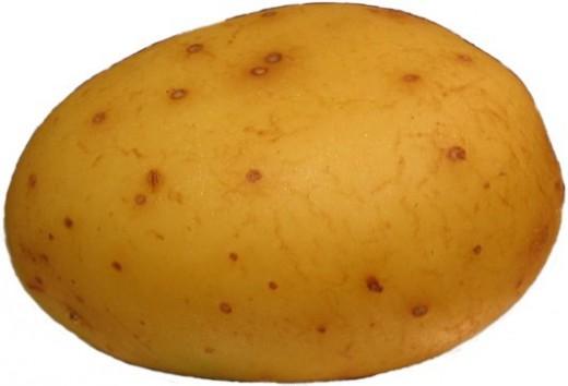 Here's a potato