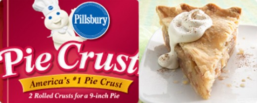 Pillsbury Pie Crusts are so easy to use and make a apple pie even better.