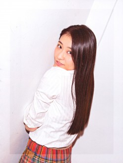 Ayaka Wada Leader of the Pop Music Girl Group Angerme