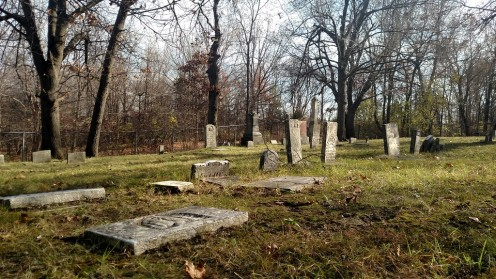 An old cemetery