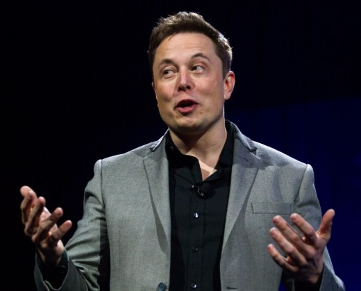 Elon Musk talks about space travel at an SXSW panel in March of 2018