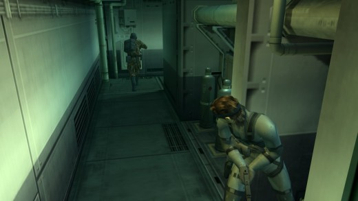 the sound of enemies being alerted to Snake's presence still freaks me out
