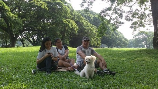 Kujo with his family