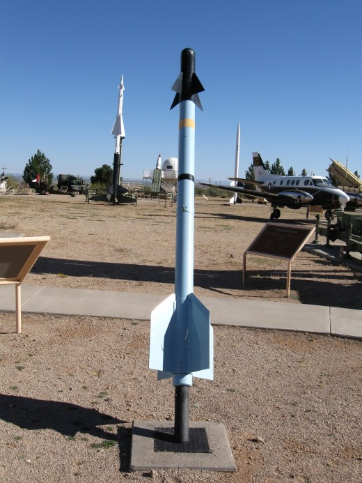 Sidewinder Missile at  the Army's White Sands Missile Museum