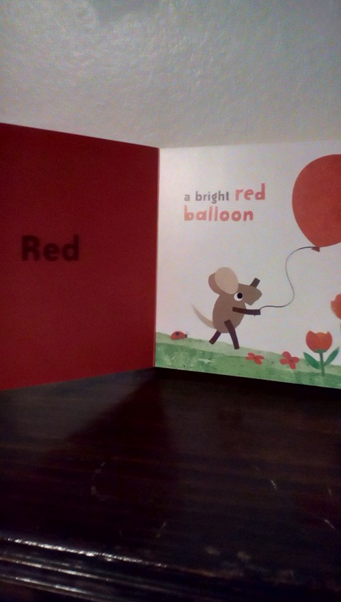 A Little Book About Colors  Let's Learn Red