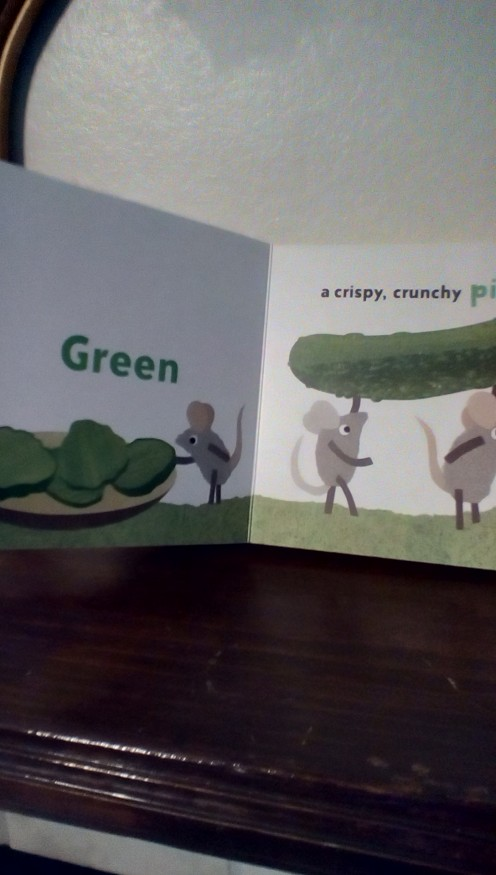A Little Book About Colors-Let's learn about green