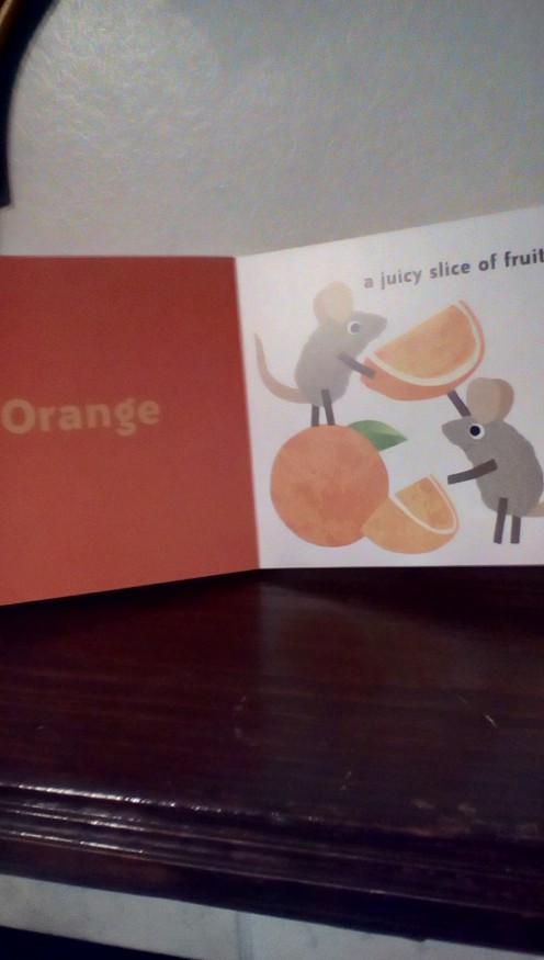 A Little Book About Colors-Let's learn orange