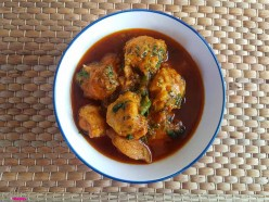 How to make Fish Balls Curry the Indian Way