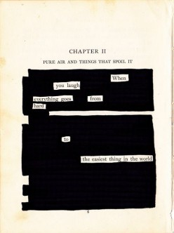 Visual and Found Poetry