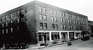 Kerns Hotel before the 1934 blaze