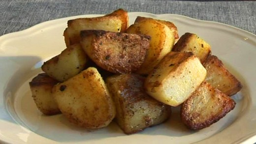 Yogurt on roasted potatoes or in lieu of sour cream on potatoe skins.