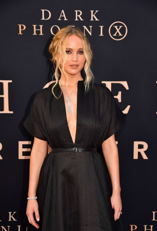 Lawrence at the 2019 premiere of Dark Phoenix.