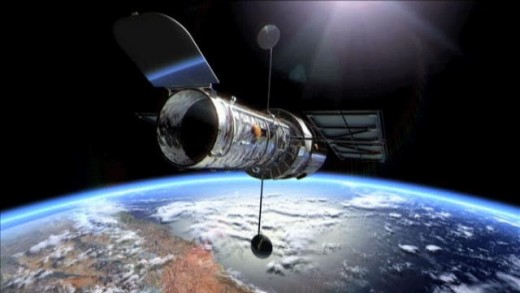 Hubble Space Telescope, in orbit since 1990, which has given us unprecedented deep-sky photography