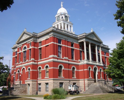 Old Eaton County Courthouse, Charlotte, an important example of the preservationist movement