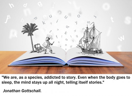 We are all storytellers.