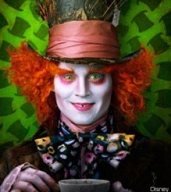 Tim Burton and Johnny Depp take on Alice in Wonderland