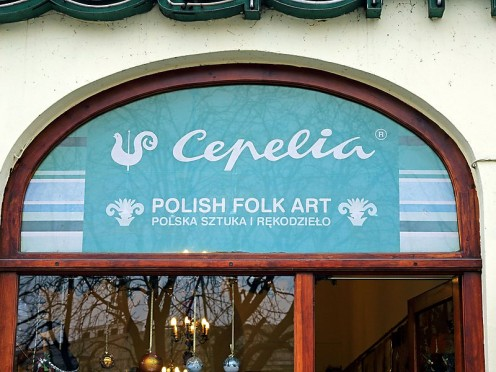 Cepelia has stores in Warsaw and throughout Poland where you can find traditional folk crafts and art pieces.