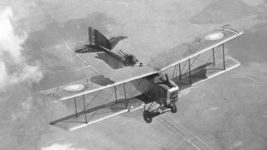 The Breguet 14, one of the best bomber-reconnaissance craft of the First World War.