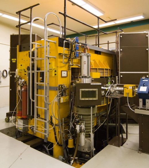 A typical cyclotron of our time