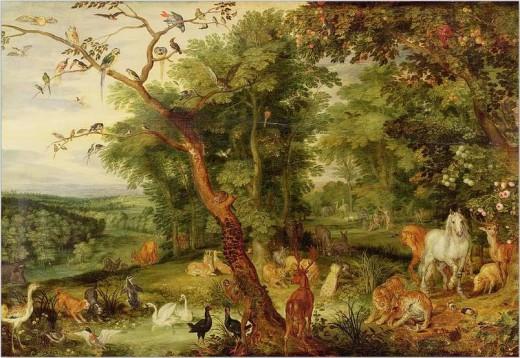 Zera in the Garden of Eden