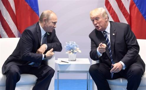 The bro-mance continues. Putin and Trump.