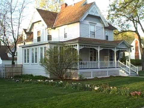 Thomas E. Dewey's boyhood home in Owosso--from here he would go on to national prominence