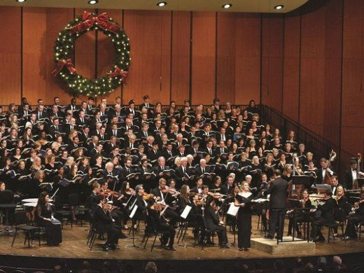 """Performance of Handel's """"Messiah"""" at Christmas by the MSU Symphony Orchestra"""
