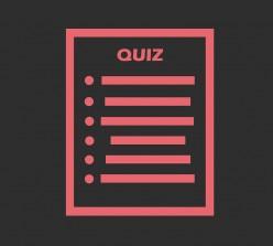 Weird Quizzes You Can Find Online