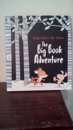 Reading Adventures With Foxy and Piggy in Beautiful Picture Book and Learn That Books Can Take Us to Many Places