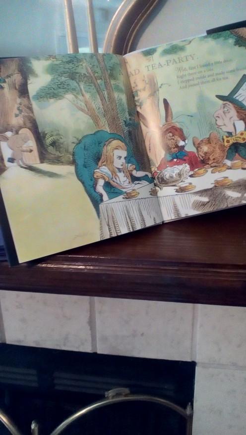 Everyone loves adventures with Alice in Wonderland
