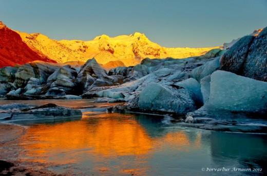 Land of ice... (Thorvardur Arnason 2012)