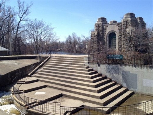 The Brenke Fish Ladder--an unusual solution to fish management