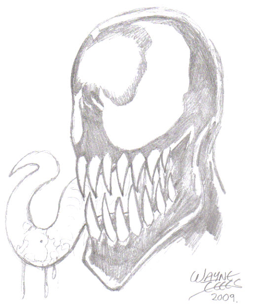 Venom character - Trademark and Copyright Marvel 2009.