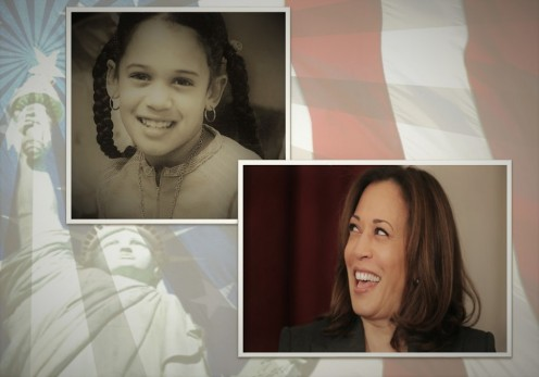 Kamala Devi Harris, the little girl who could become President of the United States.