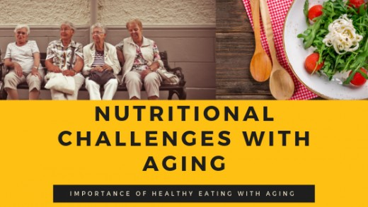 Aging comes with a variety of nutritional deficiencies!