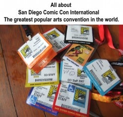 San Diego Comic-Con Convention - Best International Popular Arts Convention
