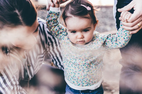 unsplash toddlers learning how to walk