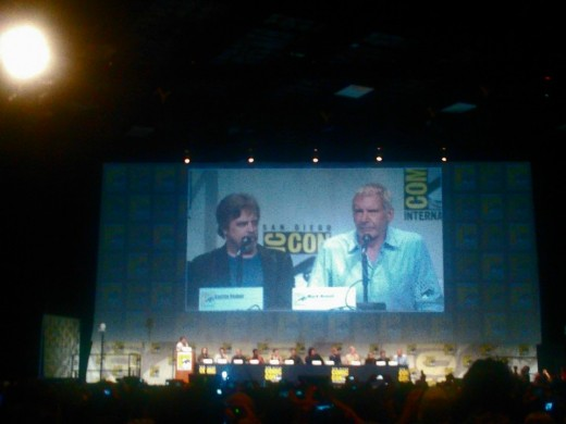 Mark Hamill and Harrison Ford. I have to tell you a story about that...