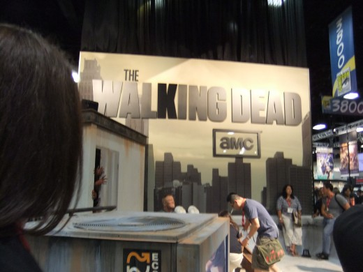 The Walking Dead and other other-worldly TV series always have stalls.