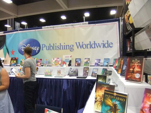 Virtually all mainstream bookpublishers are there.