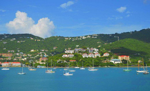 St. Thomas cruise visitors will see one of the most beautiful ports in the Caribbean.