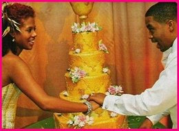 NAS And Kelis On Their Wedding Day