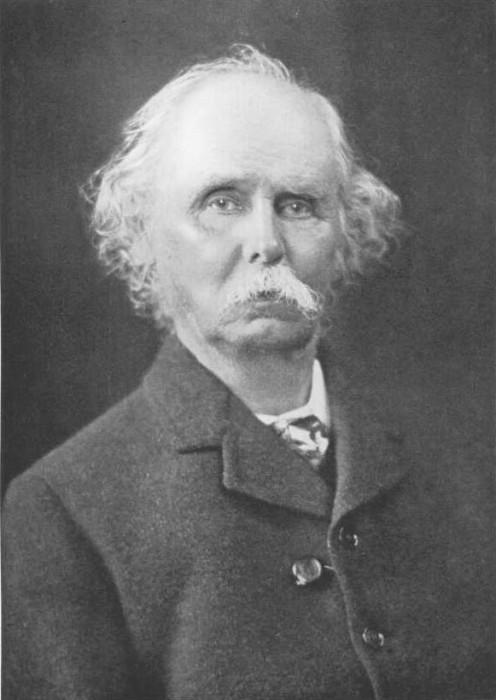British economist Alfred Marshall (1842 - 1924) pictured in 1921.
